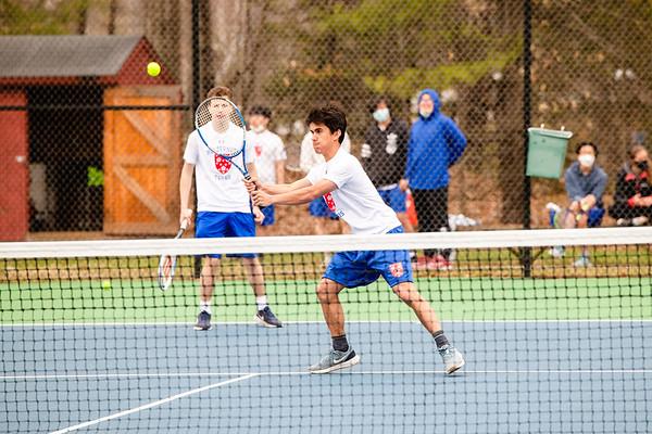 Boys JV Tennis vs. KUA   April 17