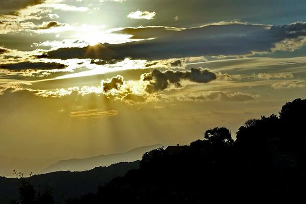 Lever de soleil en Balagne