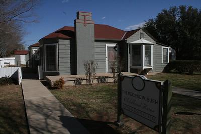 Midland Texas Bush Home - March 2014