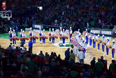Drumline at Boston Celtics