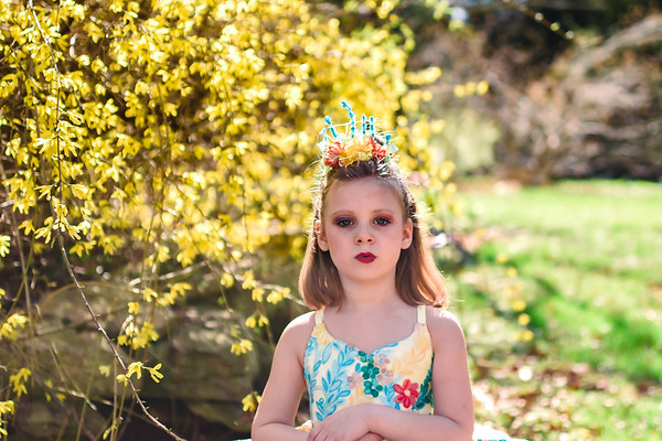Spring Yellow Amelia and Easter Dress