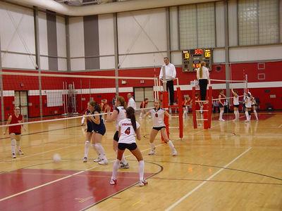 Girls Junior Varsity Volleyball - 2005-2006 - 1/12/2206 vs. Big Rapids