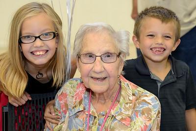 Doris Walker Centennial Birthday Party
