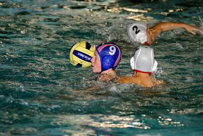 Commerce Holiday Invite 2008 - 1st Place 12U Orange County Water Polo Club vs Rose Bowl 12/14/08. Final score 13 to 10. OCWPC vs RBWPC. Photos by Allen Lorentzen.