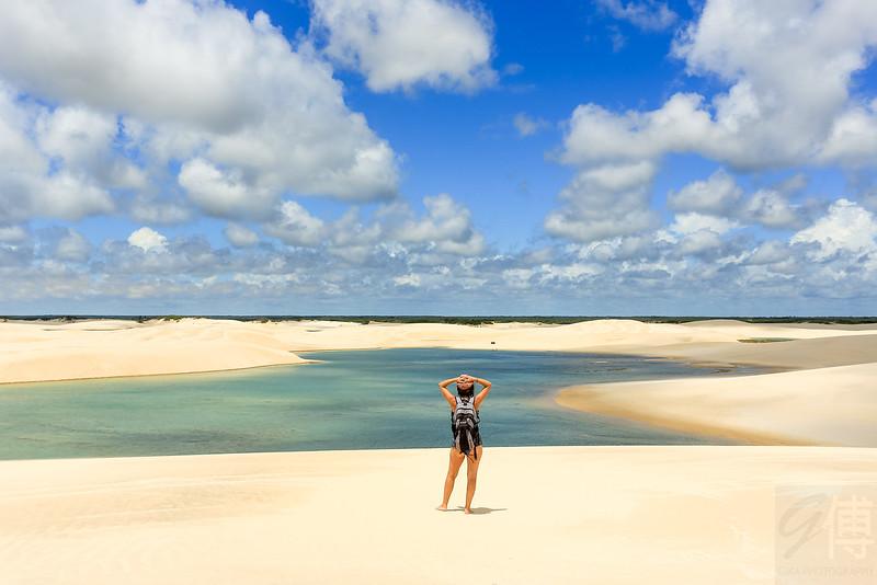 Lagoa Tropical, Lençóis Maranhenses, Maranhão - Brasil