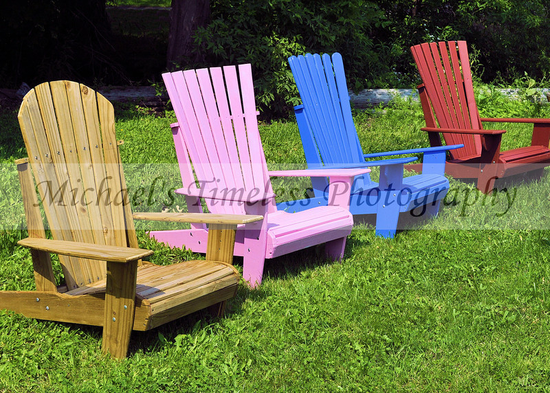 Adirondack Chairs - 5 x 7