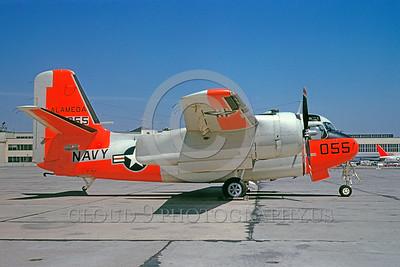 U.S. Navy Grumman C-1 Trader Day-Glow Color Scheme Military Airplane Pictures