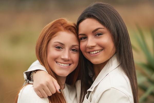 Sarah and Olivia