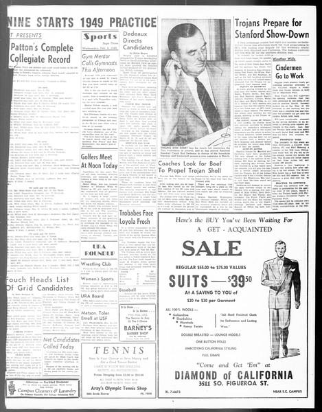 Daily Trojan, Vol. 40, No. 75, February 09, 1949