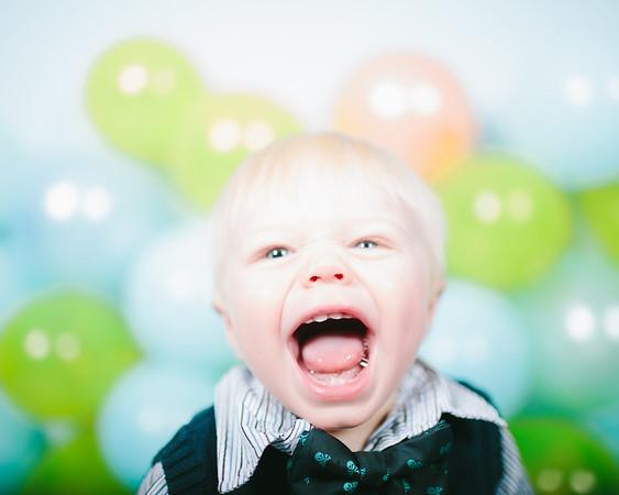 Parker's First Birthday