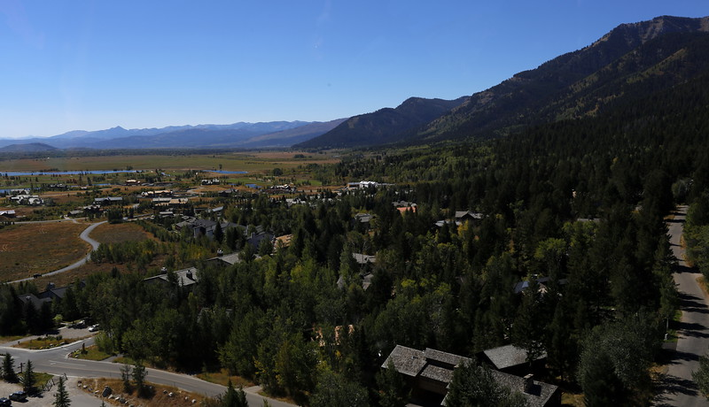 Teton Village view
