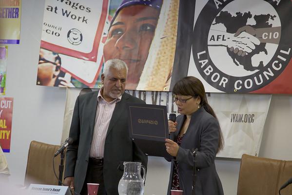 Hassan Juma'a Alameda Labor Council