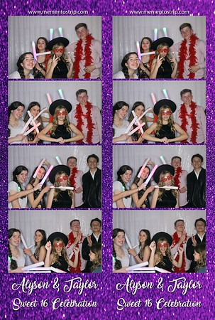 Alyson & Taylor's Sweet 16 Celebration