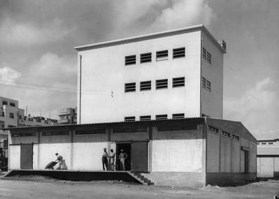 Hamashbir Coop Center, Jaffa - 1937-1938