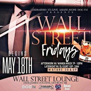 Wall Street Lounge 5-18-18 Friday