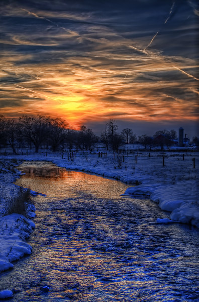sunset - dusk over vreek 002 (p).jpg