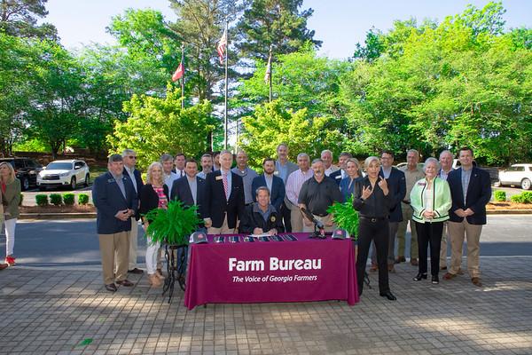 05.07.2021 Georgia Farm Bureau Bill Signings