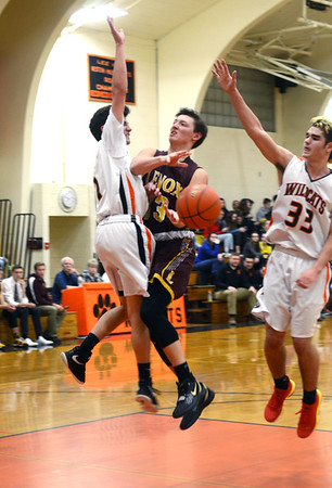 Lee vs Lenox boys basketball - 011420