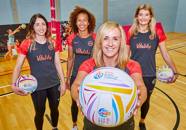 25/6/19 - Vitality Netball World Cup -  #WeAreRising Campaign Launch