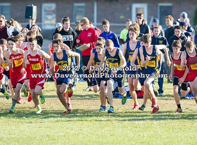 11/10/12 - Boys Varsity Cross Country - MIAA D2 Sectional - Needham
