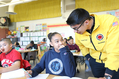 Leataata Floyd Elementary School - City Year Sacramento 2019