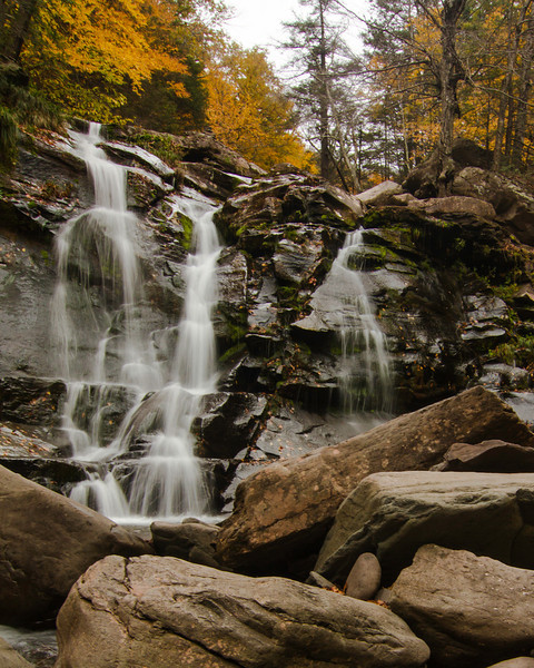 Kaaterskill Falls and Stoppel Point