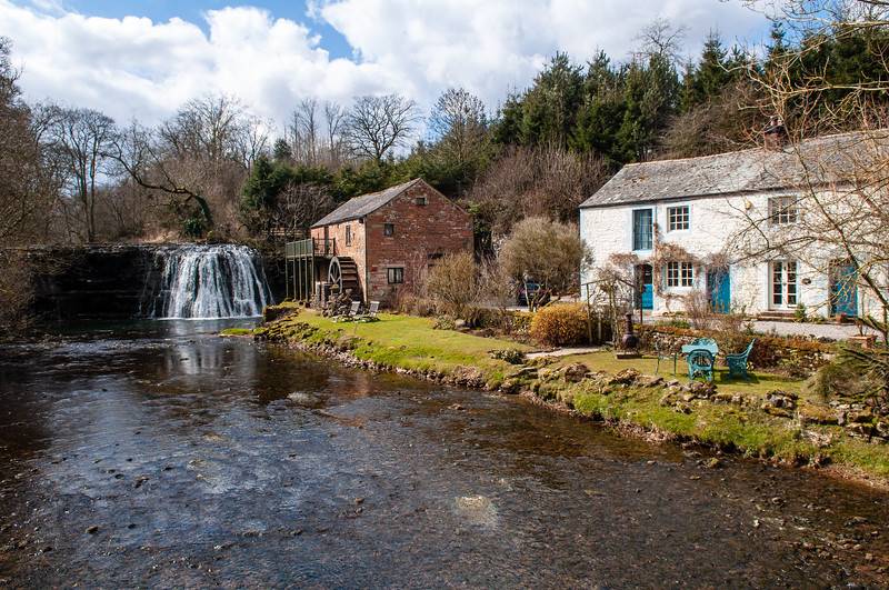 Rutter Force and water mill