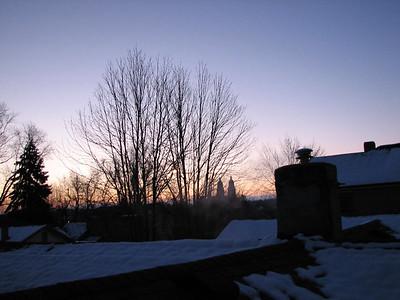Dayton sunsets and sunrises 2013