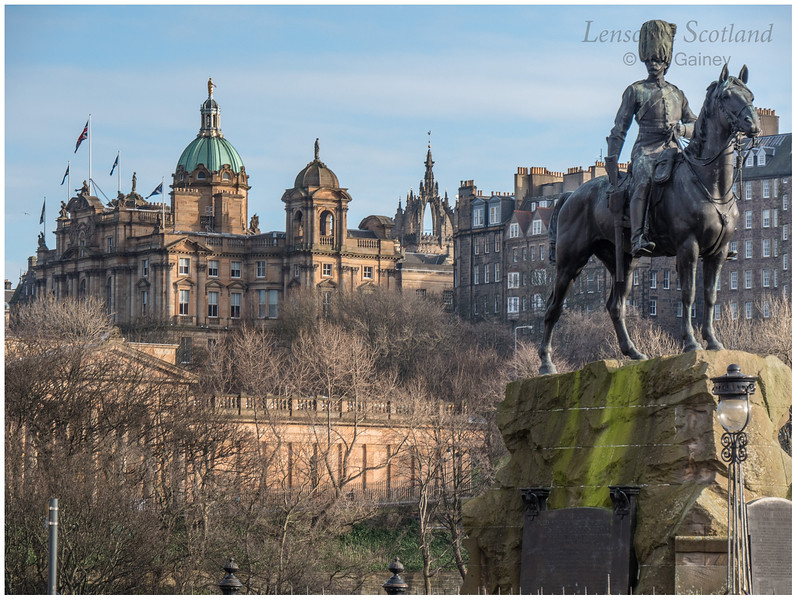 Royal Scots Greys Monument, West Princes Street Gardens (1)
