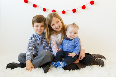 Savage Children Valentine's Mini-Session
