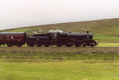 Steam on the Highland Main Line