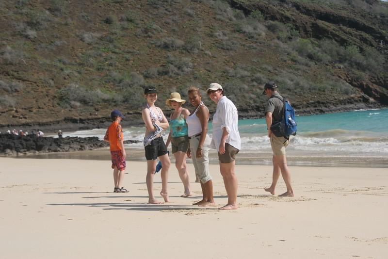 2007-02-20-0004-Galapagos with Hahns-Day 4, Floreana-Jeremy-Audrey-Debby-Jessica-ElaineH-Curtis.JPG
