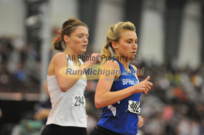 Mile Final Gallery 2 - 2012 NAIA Indoor Nationals