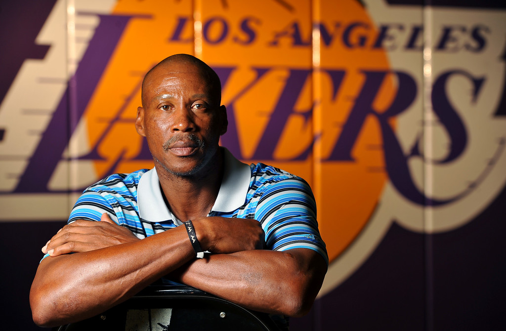 . New Lakers head coach Byron Scott at the Lakers training faciltiy in El Segundo, CA on Tuesday, September 9, 2014. (Photo by Scott Varley, Daily Breeze)