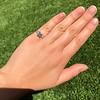1.19ct Art Deco Carre Cut Diamond Solitaire 11