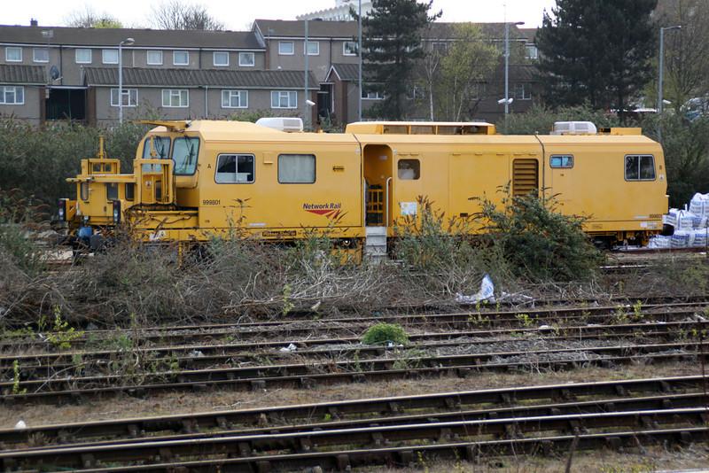 999801 at Northampton Castle Yard 14/04/12