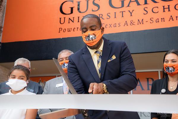 Gus Garcia University School Ribbon Cutting 2021