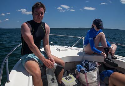 July 9 Laser sailing