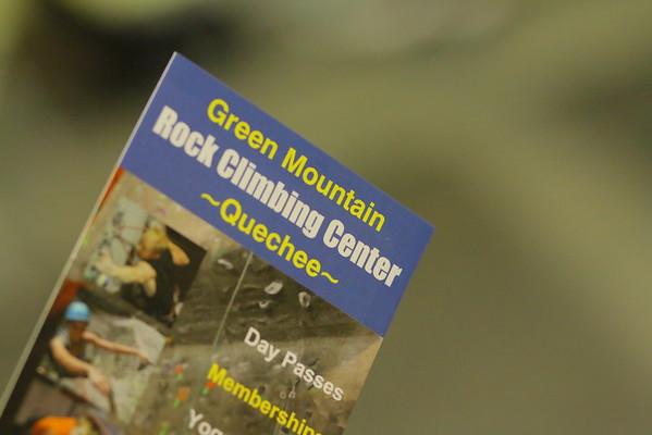 Rock Climbing in Quechee