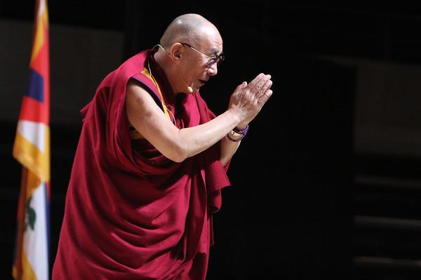 Dalai Lama and Sean Penn