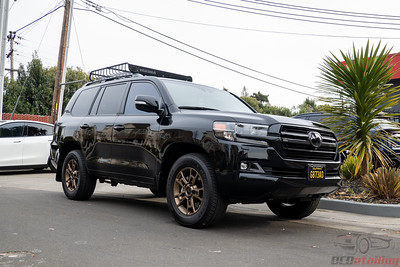 Toyota Land Cruiser - STEK DYNOShield PPF and CQFR Coating
