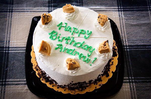 Andrew's 13th Birthday