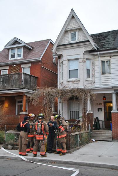 December 26, 2011 - 1st Alarm - 349 Clinton St.
