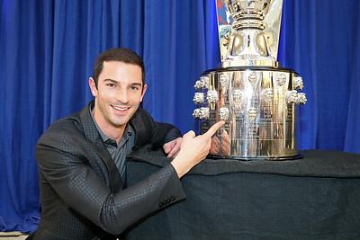 Alexander Rossi Trophy Unveiling