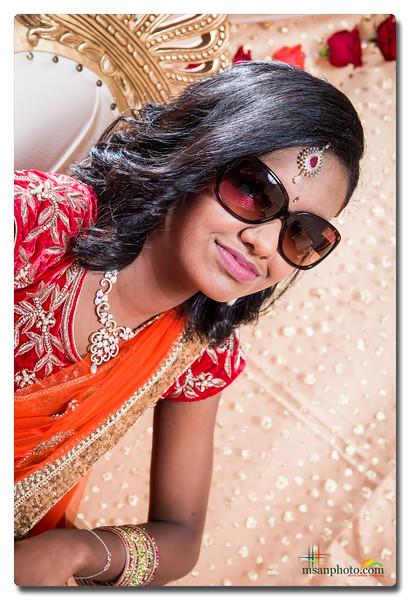 Shreya's Half-Saree Function 2017