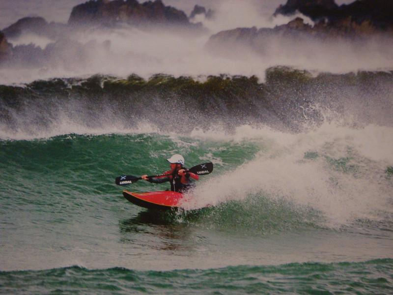 Cairngorm Lodge also runs sea-kayaking courses.