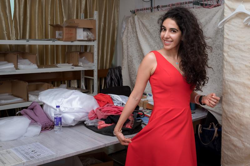 2018 Laila Dress Fitting