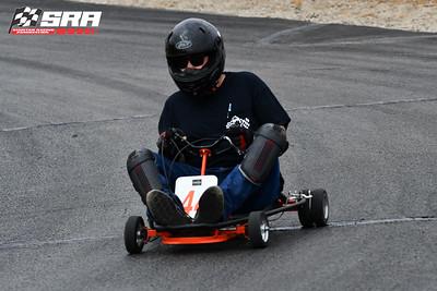 Go Quad Racer # 44 Orange