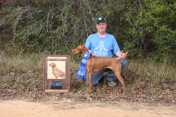 2015 Amateur Gun Dog Trophy