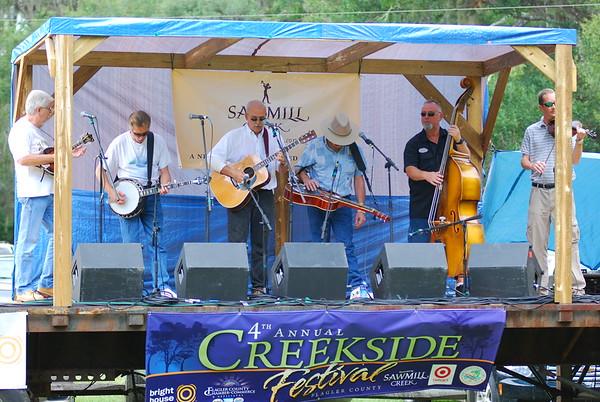 Creekside Bluegrass Festival  2008
